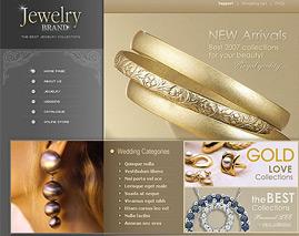 طراحی سایت جواهری