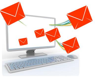 طراحی سایت ایمیل دهی